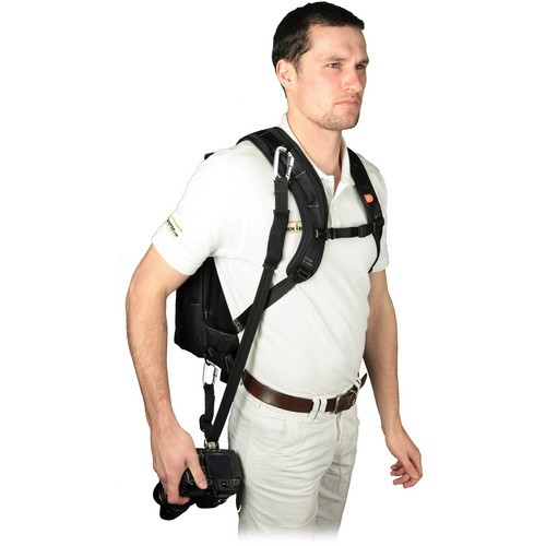 (Promotion) Sun-Sniper ROTABALL Triple Press Harness Kit - RTH Base, Camera Case, Waist Bag and ID Holder