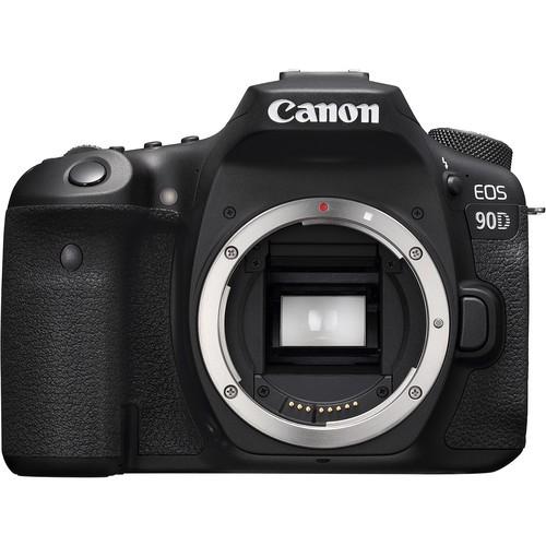 Canon EOS 90D - Body (Free 32GB SD Card + Camera Bag)