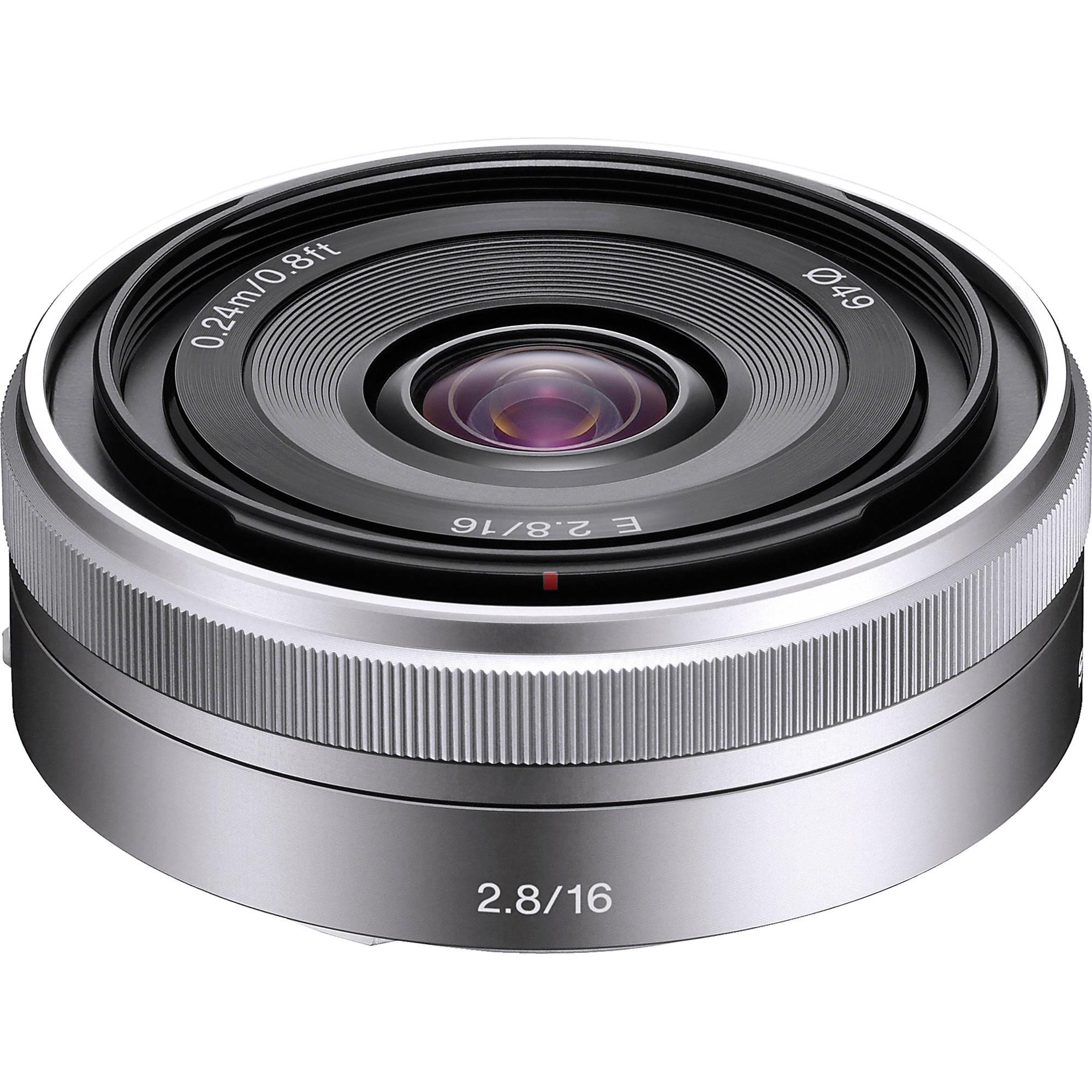 (Pre-Order) Sony E 16mm F2.8 (SEL16F28)