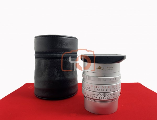 [USED-PJ33] Leica 35mm F1.4 Summilux-M ASPH FLE Limited Edition (Republic OF China Centennial), 95% Like New Condition (S/N:057/100)
