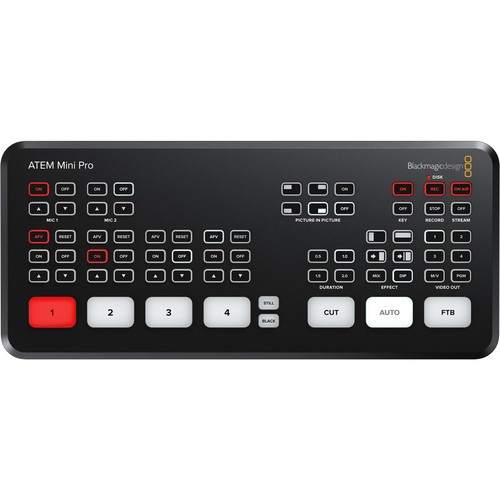 (Pre-Order) Blackmagic Design ATEM Mini Pro HDMI Live Stream Switcher