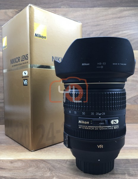 [USED @ YL LOW YAT]-Nikon AF-S 24-120mm F/4 G ED N VR Lens,95% Condition Like New,S/N:62417429