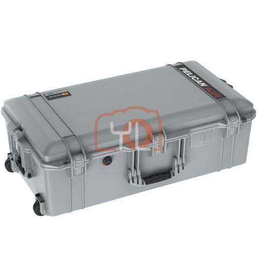 Pelican 1615 Air Wheeled Hard Case with Foam (Silver)