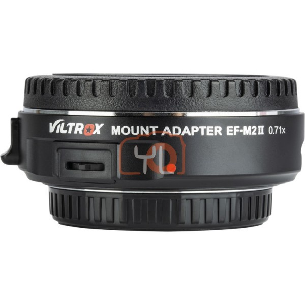 Viltrox EF-M2II Canon EF - Micro Four Thirds Lens Mount Adapter