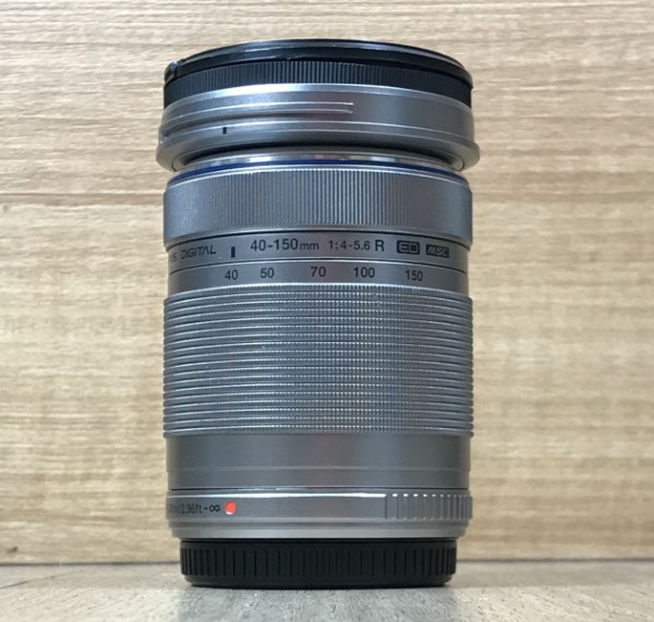 [USED @ YL LOW YAT]-Olympus 40-150mm F4-5.6 R ED M.Zuiko Lens [Silver],90% Condition Like New,S/N:ABKC43762