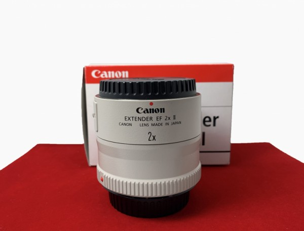 [USED-PJ33] Canon 2x II Extender EF Teleconverter , 95% Like New Condition (S/N:185285)