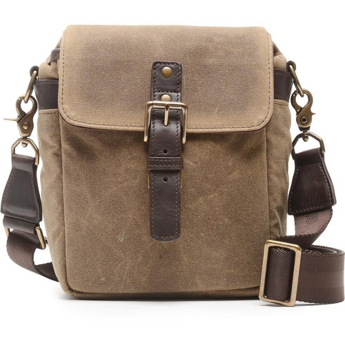 ONA Bond Street Waxed Canvas Camera Bag (Field Tan)