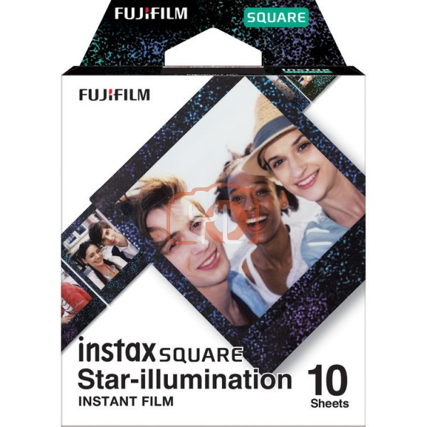 FUJIFILM INSTAX SQUARE Instant Film (Star Illumination - 10 Exposures)