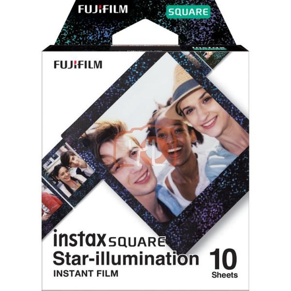 FUJIFILM INSTAX SQUARE Instant Film (Star Illumination - 10 Exposures)