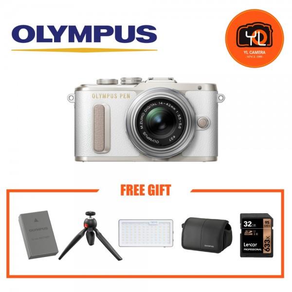 (Promotion) Olympus E-PL8 +  M.Zuiko 14-42mm EZ (White)