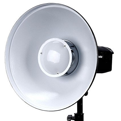 Godox BDR-W420 Beauty Dish Reflector White Bounce 42cm Bowens mount