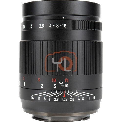 7artisans 50mm F1.05 for Canon RF (Black)