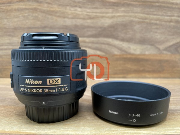 [USED @ YL LOW YAT]-Nikon 35mm F1.8 DX AFS Lens,90% Condition Like New,S/N:3231833