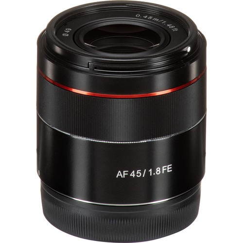 (SPECIAL PRICE) Samyang AF 45mm F1.8 FE For Sony E