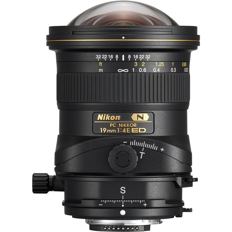 Nikon PC 19mm F4E ED Tilt-Shift