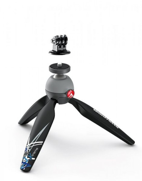 Manfrotto MKPIXIEX-BK PIXI Xtreme Mini Table Top Tripod