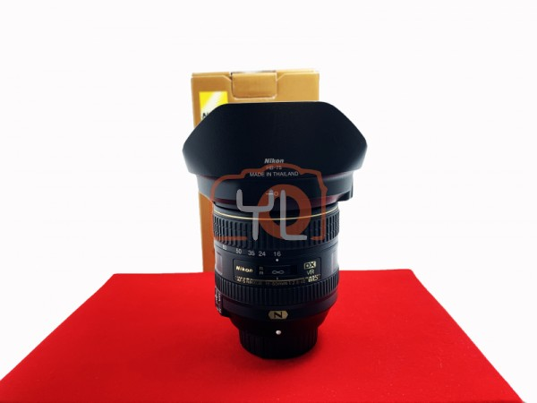 [USED-PJ33] Nikon 16-80mm F2.8-4 E AFS DX VR, 95% Like New Condition (S/N:243014)