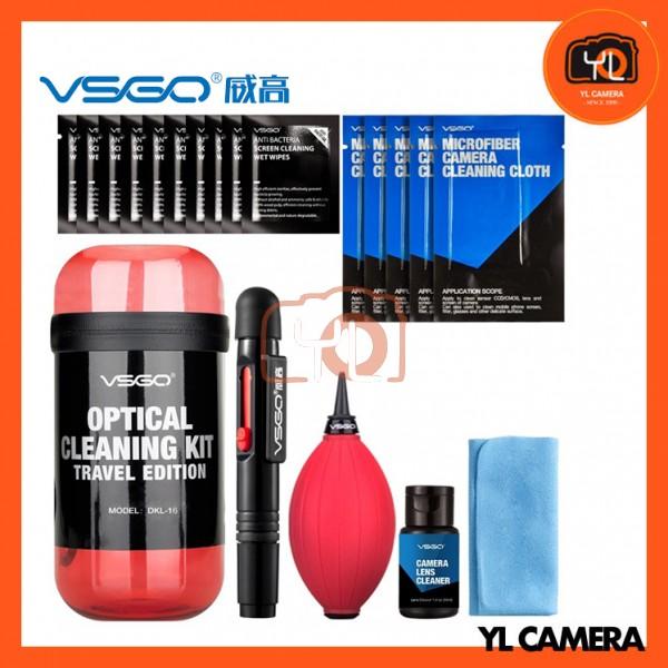 VSGO DKL-15R Travel Kit for Cleaning Lenses (Red)
