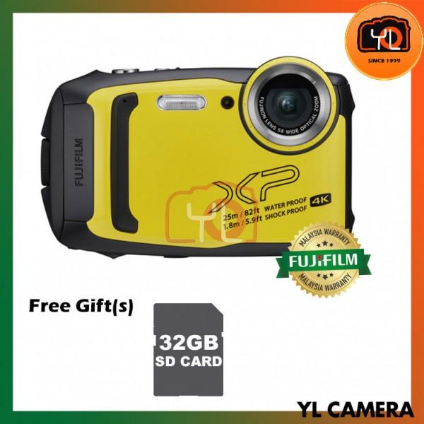 Fujifilm FinePix XP140 Digital Camera - Yellow (Free 32GB SD Card)