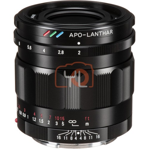 Voigtlander APO-LANTHAR 50mm F2 Aspherical Lens (For Sony E)