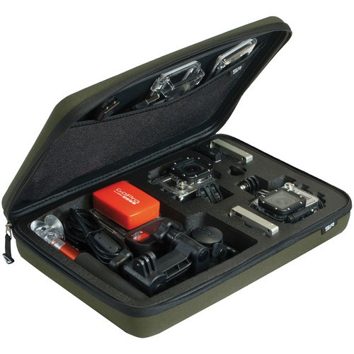 SP-Gadgets POV Case for GoPro Cameras (Large, Olive)