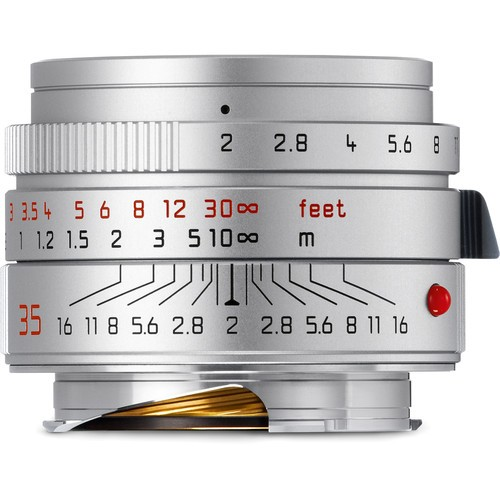 Leica 35mm F2 Summicron-M ASPH. - Silver (11674)