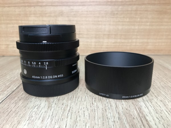 [USED @ YL LOW YAT]-Sigma 45mm F2.8 DG DN Contemporary Lens For Leica L/Panasonic L mount,90% Condition Like New,S/N:54299630