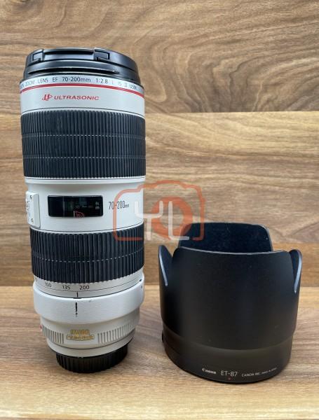 [USED @ YL LOW YAT]-Canon EF 70-200mm F2.8 L IS II USM Lens,90% Condition Like New,S/N:163951