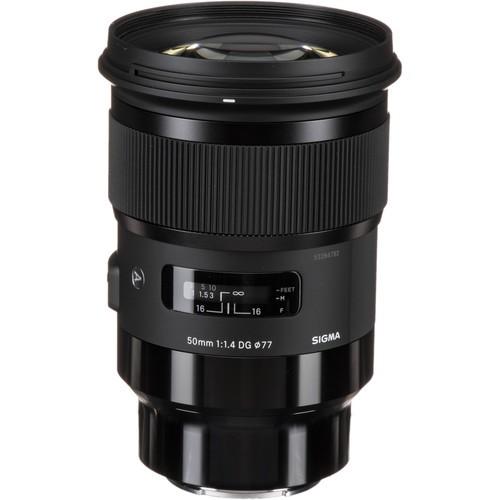 Sigma 50mm F1.4 DG HSM Art Lens (Sony E)