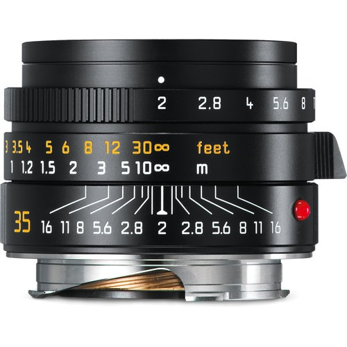 Leica 35mm F2 Summicron ASPH. - Black (11673)