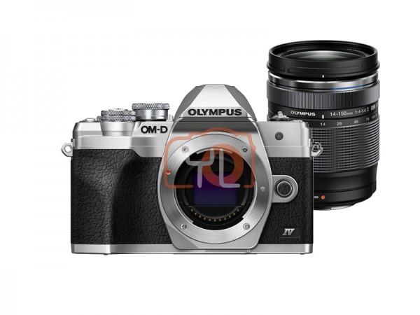 Olympus OM-D E-M10 Mark IV + M.Zuiko 14-150mm F4-5.6 II (Silver)