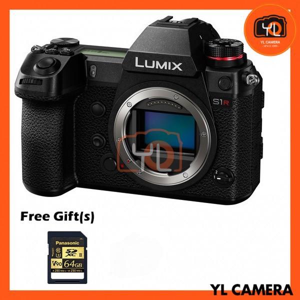 Panasonic Lumix DC-S1R (Body) [Free Panasonic 64GB SD Card]