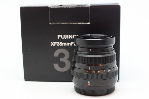[USED-PUDU ] Fujifilm 35mm F2 R XF WR BLACK 95%LIKE NEW CONDITION SN:76A16820
