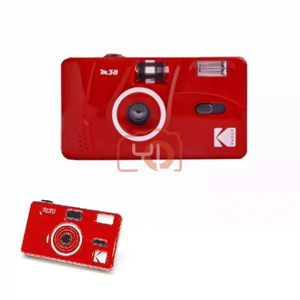 Kodak M38 Film Camera - RED W/ Pin Tag