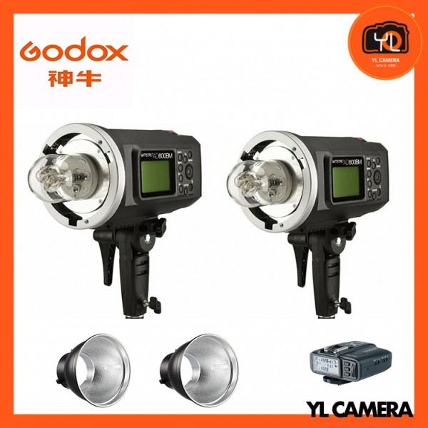 Godox AD600BM All-In-One Outdoor Flash + Godox AD-R6 Standard Reflector (7