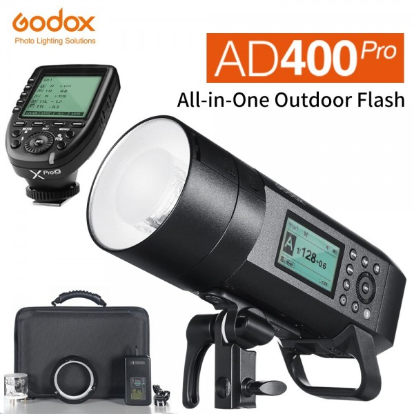 Godox AD400Pro Witstro All-In-One Outdoor Flash XPro-N Fro Nikon Combo Set