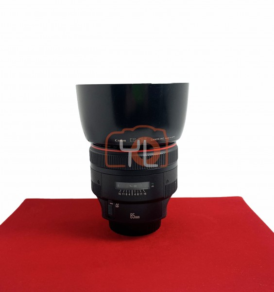 [USED-PJ33] Canon 85MM F1.2 L II USM EF, 90% Like New Condition (S/N:174878)