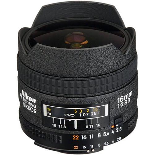 Nikon 16mm F2.8 AF D Fisheye
