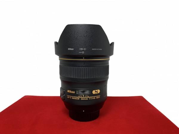 [USED-PJ33] Nikon 24MM F1.4 G AFS, 95% Like New Condition (S/N:201977)
