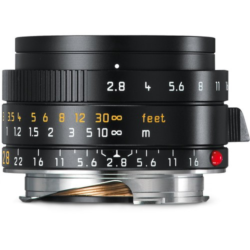 Leica 28mm F2.8 Elmarit-M ASPH. - Black (11677)