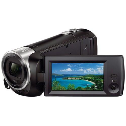 Sony HDR-CX405 HD Handycam (Free 16GB microSD Card)
