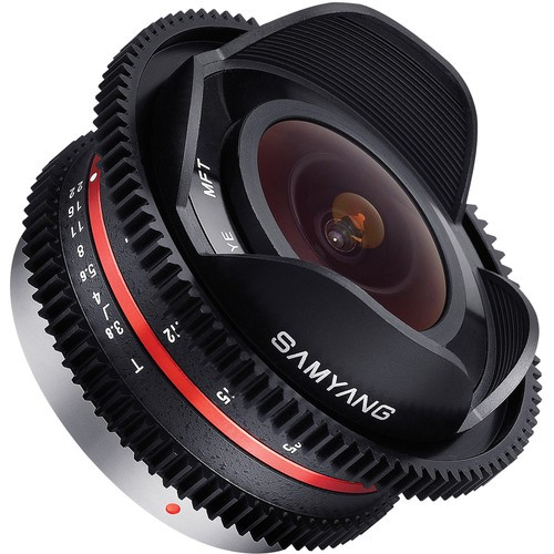 Samyang 7.5mm T3.8 Cine UMC Fisheye Lens for Micro Four Thirds Mount