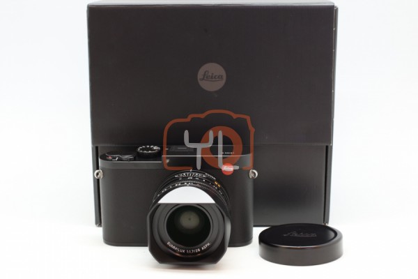 [USED]-LEICA Q TYP116 (BLACK) 19000 With Leica Q Protector Case (Black) 98%LIKE NEW CONDITION SN:5155814