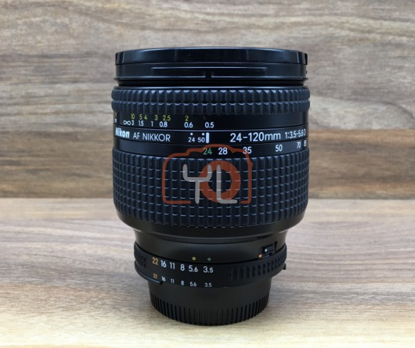 [USED @ YL LOW YAT]-Nikon AF 24-120mm F3.5-5.6 D Lens,90% Condition Like New,S/N:254516