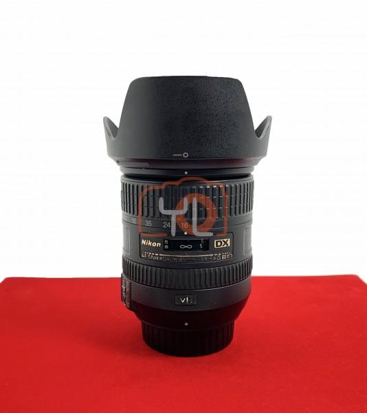 [USED-PJ33] Nikon 16-85mm F3.5-5.6 G AFS DX VR ED Lens, 85% Like New Condition (S/N:22271996)