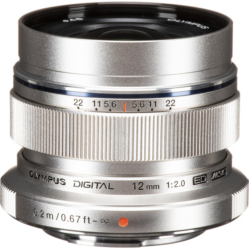 Olympus 12mm F2 M.Zuiko (Silver)