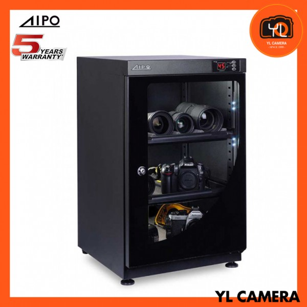AIPO Digital Series AP-88EX Dry Cabinet (88L) (New with LED Light!)