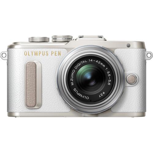 Olympus E-PL8 +  M.Zuiko 14-42mm EZ (White) [Free Lexar 32GB 95MB SD Card + Benro Freeshoot 30 Camera Bag]