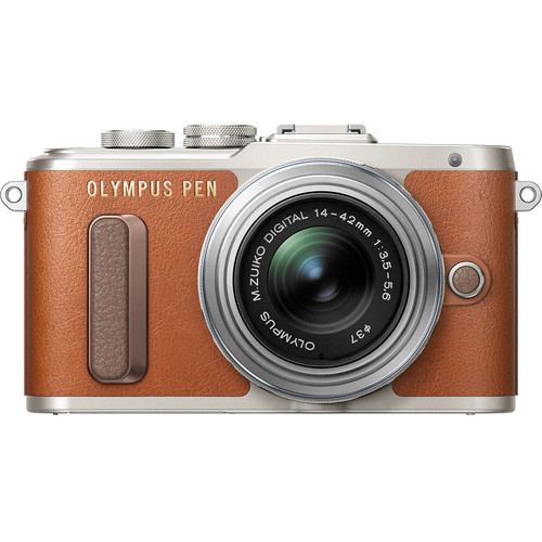 Olympus E-PL8 +  M.Zuiko 14-42mm EZ (Brown)