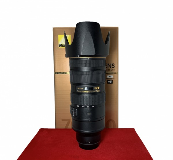 [USED-PJ33] Nikon 70-200MM F2.8 G VR II AFS, 95% Like New Condition (S/N:20394422)